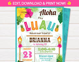 party invitations luau party invitations luau party invitations with glamorous
