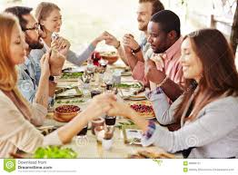 thanksgiving pray stock image image of celebration wine 58895127