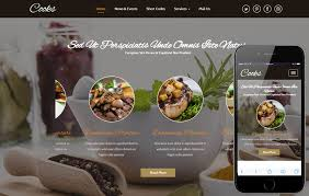responsive web design layout template cooks a hotel category flat bootstrap responsive web template