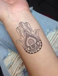 30 hamsa tattoos that will brighten your soul generales