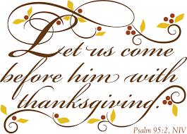 presbyterian church thanksgiving worship