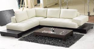 White Leather Sofas Sofa Leather Sofa Set Small Sectional Sofa White Leather