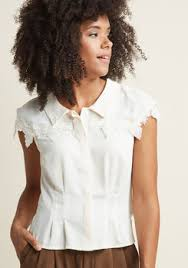 short sleeve blouses cute short sleeve tops for women modcloth