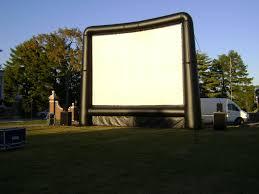 rent an outdoor movie screen kramer