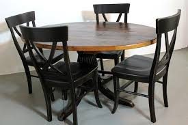 Custom  Round Farm Style Dining Table From Old Pine By - Old pine kitchen table
