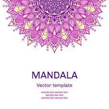 mandala floral ornaments template vector 05 vector floral free