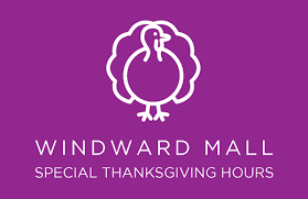 event thanksgiving mall hours windward mall kaneohe hi