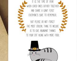 printable thanksgiving cards happy thanksgiving cat card