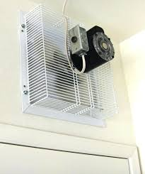 in wall exhaust fan for garage through the wall exhaust fans for the kitchen latest through the