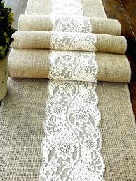 burlap table runners wholesale table runner great burlap table runners with lace cheap of burlap
