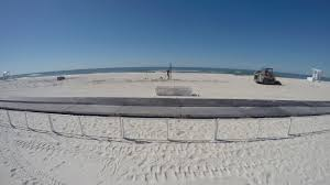 how to build a beach volleyball court time lapse youtube