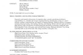 Sample Basketball Coach Resume by Soccer Coach Resume Template Reentrycorps