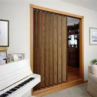 Rolling Room Divider Woodfold Accordion Doors Folding Doors And Room Dividers