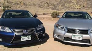 lexus sedan 2013 lexus es vs gs 0 60 mph mashup review what u0027s the best new