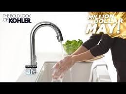 kohler touch kitchen faucet word of the day kohler beckon kitchen faucet