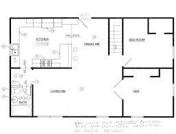 Galley Kitchen Floor Plan Interesting Galley Kitchen Design Plans Gallery Best Idea Home