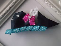 whale ribbon whale ribbon sculpture hair clip blue whale hair by creationslove