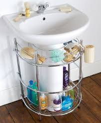Sink Shelves Bathroom Space Saving Ideas For Small Bathrooms Storage Ideas