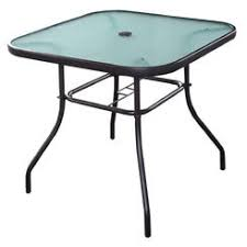 Square Glass Table Top Patio Tables Outdoor Tables Sears