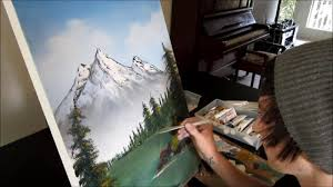 relaxing painting videos bob ross style painting relaxation hd youtube