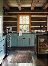 25 best rustic cabin kitchens ideas on pinterest rustic cabin
