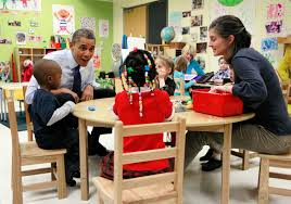 Obama Curtains Obama U0027s Preschool Plan