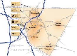 Map Of Charlotte Airport Cabarrus Edc Cabarrus County U2013 Big City Benefits With A Casual