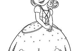 8 images disney princess sofia coloring pages princess sofia