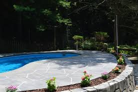 Pool Landscape Design by Swimming Pool Landscaping What Plants To Avoid