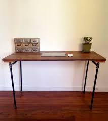 reclaimed barn wood u0026 pipe desk features reclaimed wood arc