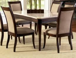 standard furniture bella 7 piece dining room set w faux