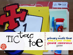 lds primary music time game u0026 idea tic tac toe live craft eat