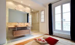 chambre d h e creuse chambre salle de bain ouverte sur chambre amenagement salle bain