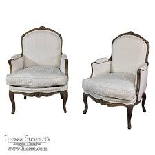 Next Armchairs Pair 19th Century French Regence Bergeres Armchairs