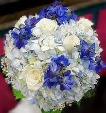 hydrangea wedding bouquet dill s something blue hydrangea bridal bouquet
