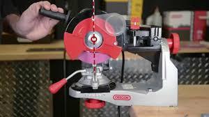oregon bench chain grinder model 520 120 installation and set up