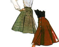 wrap skirt pattern etsy