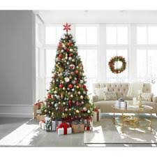 12 ft pine artificial set tree pre lit