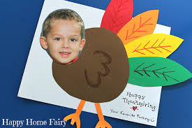 turkey yourself an adorable diy thanksgiving card happy
