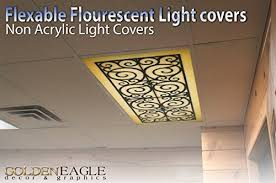 Fluorescent Light Covers Fabric Fluorescent Light Fixture Covers Replacement Amazon Com