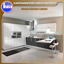 zhihua high gloss modern mdf finished rta kitchen cabinet design
