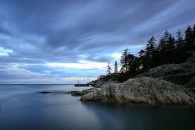 Park West Landscape by Rocky Landscape In Lighthouse Park West Vancouver Bc Canada