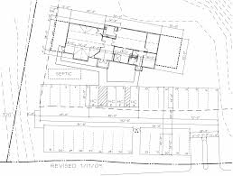 site plan meetinghouse plans concord meeting quakers
