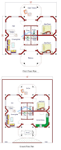 Floor Plan Two Storey by 81 Best Make My House Images On Pinterest My House Diwali And