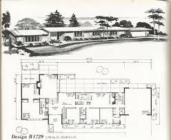 Retro Ranch House Plans 1259 Best H Mcm House Plans Images On Pinterest Vintage Houses