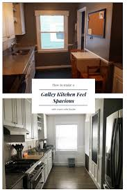 diy galley kitchen transformation u2014 mom wife foodie