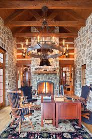 Stone Design by 15 Exquisite Home Offices With Stone Walls