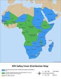 Gambia Africa Map by Rvf Distribution Map Rift Valley Fever Cdc