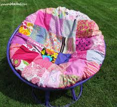 Papasan Chair Frame Amazon by Ms Elaineous Teaches Sewing Purple And Pink Papasan Remake