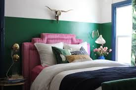 Lime Green And Turquoise Bedroom My Guest Room Makeover Emily Henderson